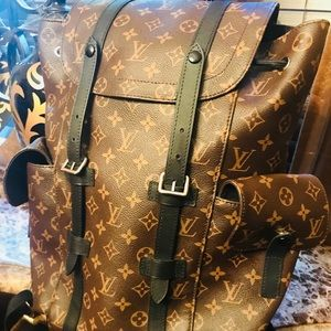 Christopher PM Authenti Louis Vuitton Man Backpack